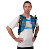Man wearing Ultimate Direction Mountain Vest 5.0, front view