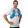 Man wearing Ultimate Direction Ultra Vest 5.0, front view
