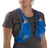 UD Blue - Woman wearing Ultimate Direction Marathon Vest v2, front view