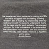 Athlete quote from Ultimate Direction Women's Casual Tank, Heather Gray