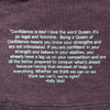 Athlete quote from Ultimate Direction Women's Casual Tank, Vintage Purple