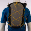 Ultimate Direction 2020 FKT Vest, gray, front view, shown on mannequin