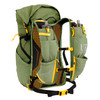 Ultimate Direction Fastpack 40, Spruce, rear view