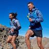 Men running in Ultimate Direction Men's Velum Shorts