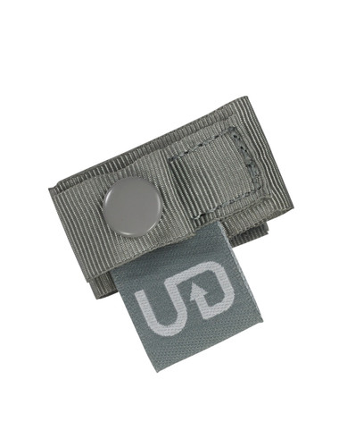 Ultimate Direction Bib Clips, shown fastened