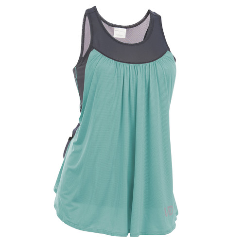 Lichen - Ultimate Direction Women's Hydro Tank, front view