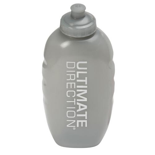 Ultimate Direction Flexform II 500 bottle, gray, front view