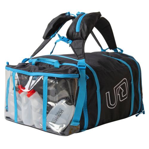 Ultimate Direction Crew Bag V2, black, end view