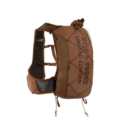 Ultimate Direction Hardrocker vest, brown, front view