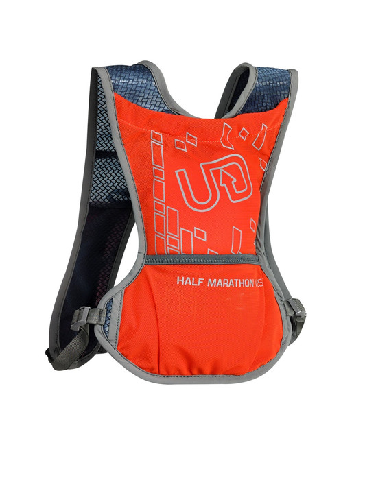 Ultimate Direction Half Marathon Vest - Prior Model Year, orange, front view