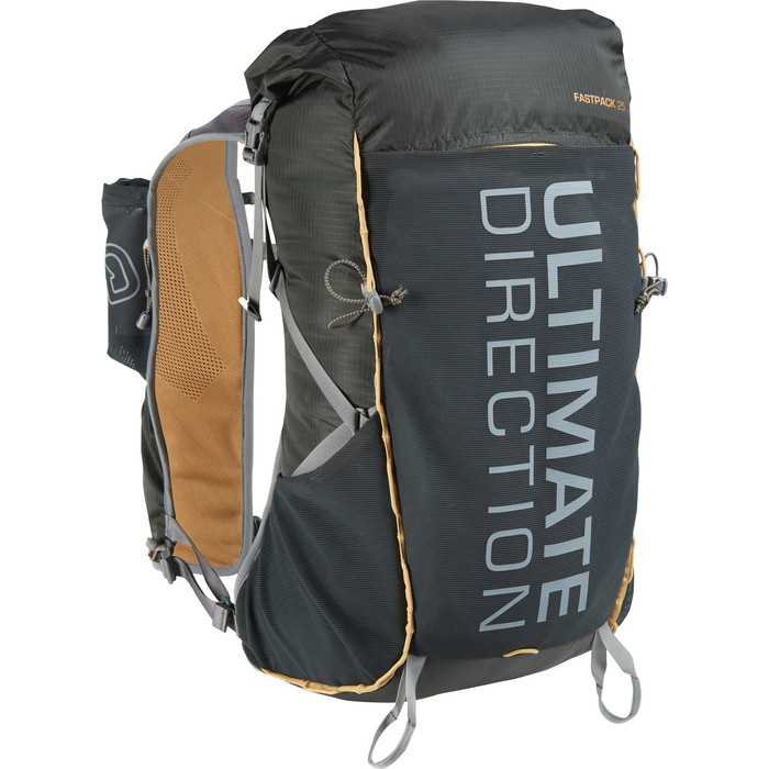 Ultimate Direction Fastpack 25, black, front view