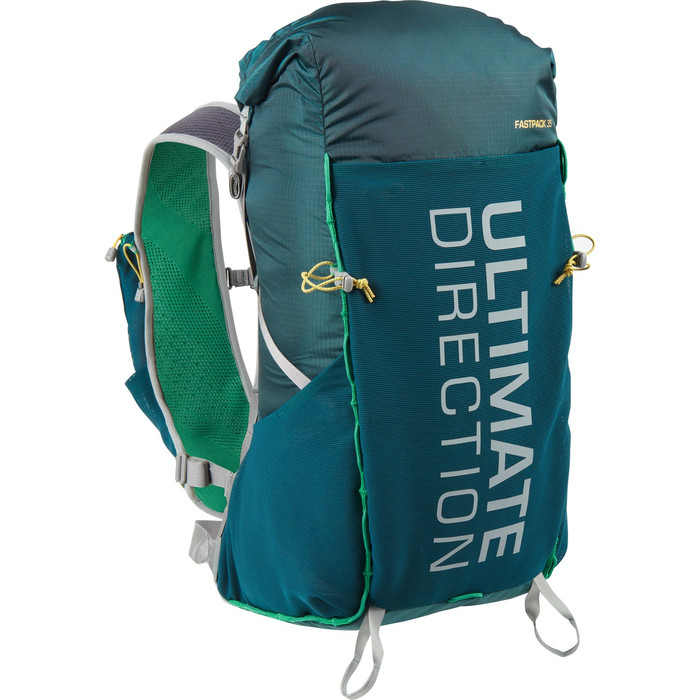 Ultimate Direction Fastpack 35, green, front view