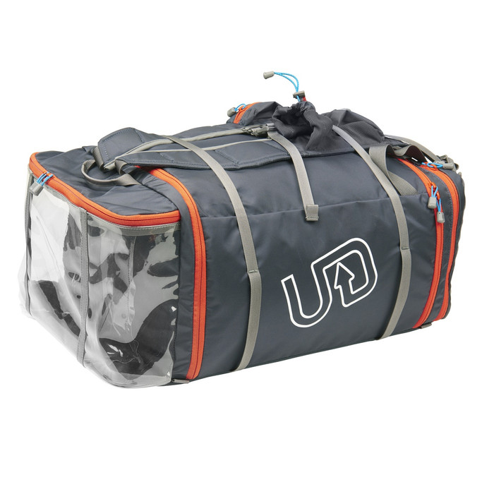 Ultimate Direction Crew bag, front view, closed