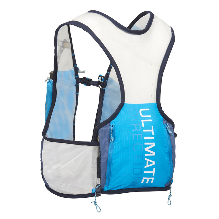 Ultimate Direction Race Vest 4.0, blue/white, front view