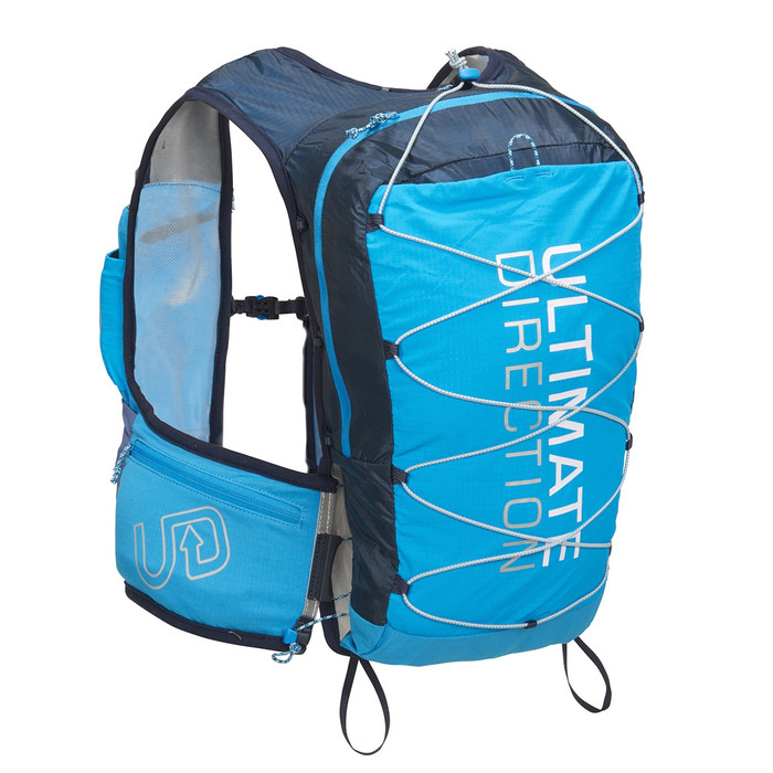 Ultimate Direction Mountain Vest 4.0, blue, front view