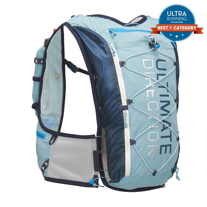 trail running hydration pack Ultimate Direction Race Vest 5.0