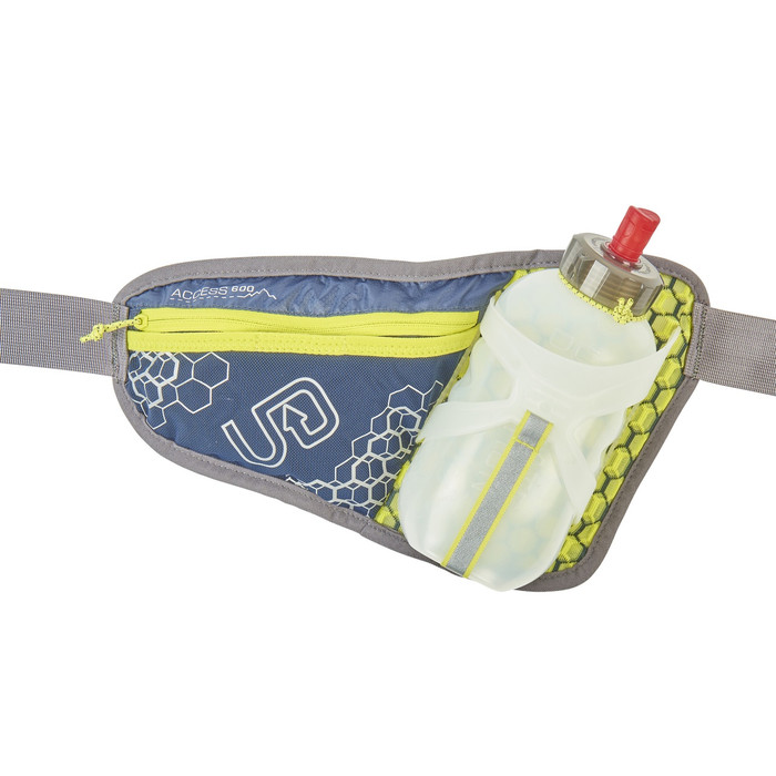 Midnight Blue - Ultimate Direction Access 600 running belt, front view