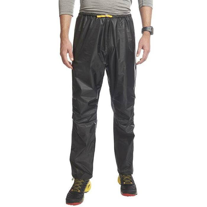 Ultimate Direction Men's Deluge Pant, black, front view