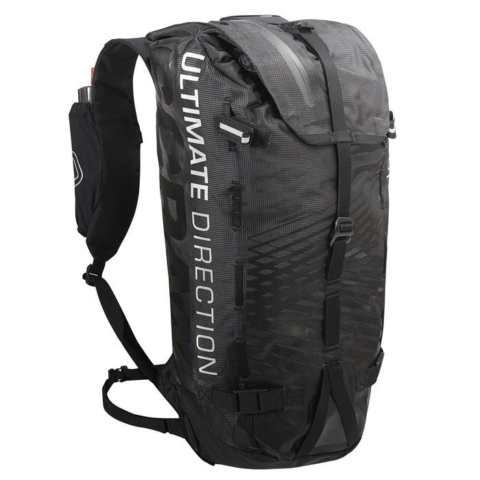 Ultimate Direction SCRAM pack, black, front view