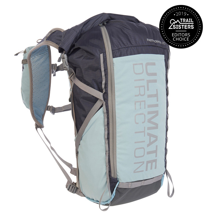 Ultimate Direction FastpackHer 20, blue/gray, front view