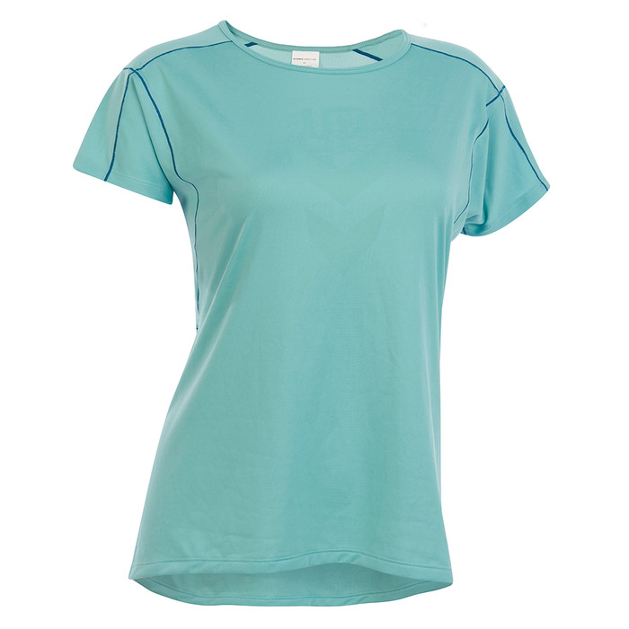Lichen - Ultimate Direction Women's Ultralight Tee, front view