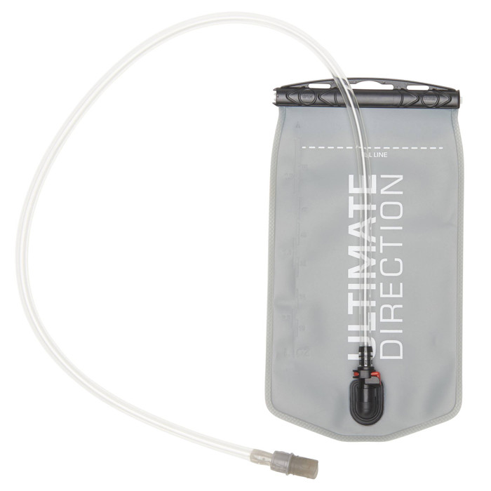 Ultimate Direction 1.5L Reservoir II, gray, front view