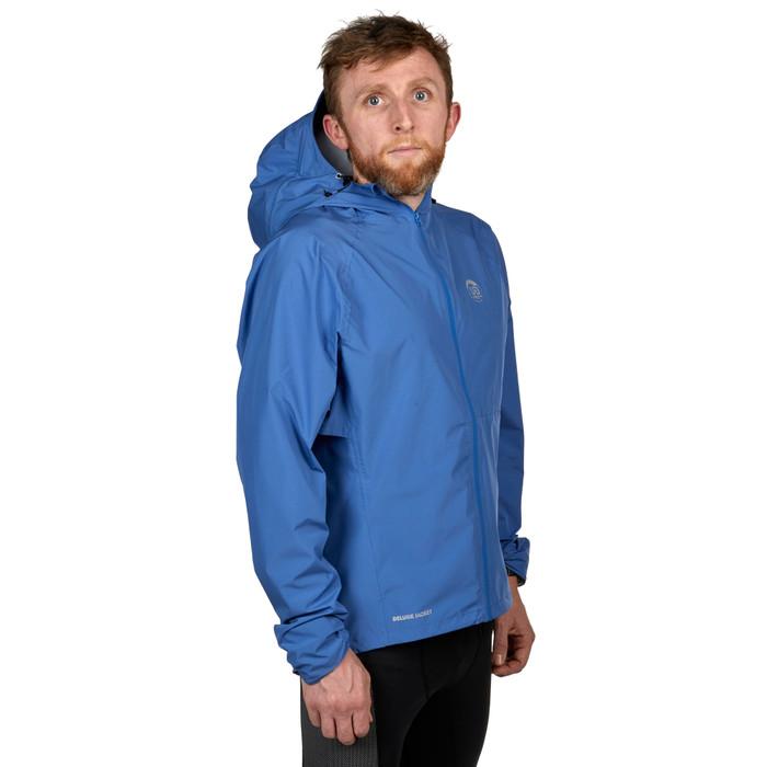 Cobalt - Ultimate Direction Men's Deluge Jacket, front view