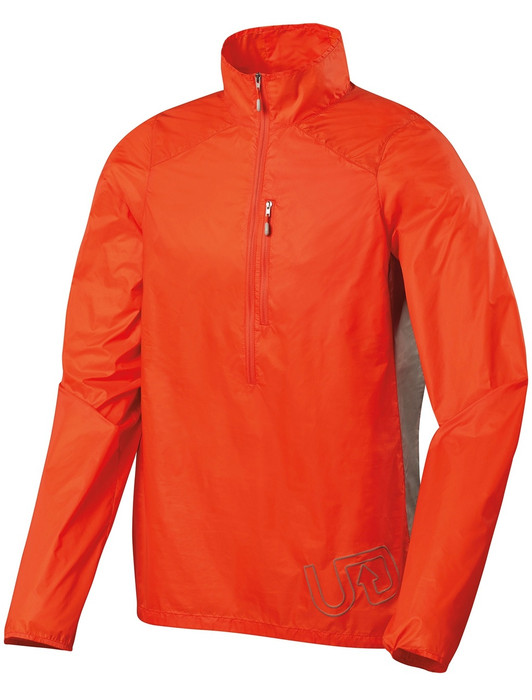 Ultimate Direction Men's Marathon Shell, orange, front view