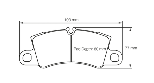 Pagid Racing Brake Pads No. 4581