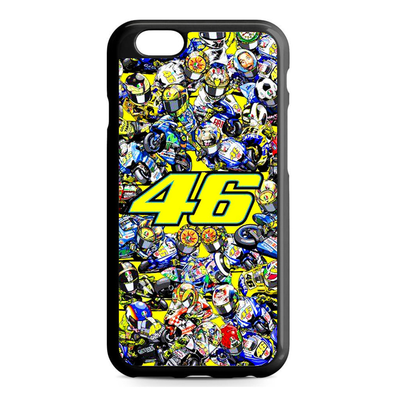 new photos c1db3 087c8 46 Valentino Rossi The Doctor iPhone 6/6S Case