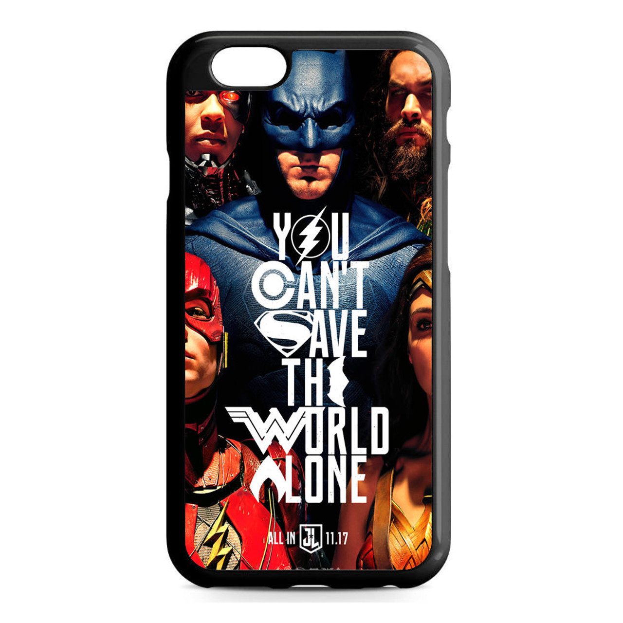 sneakers for cheap 717e9 2b30e Justice League Quotes iPhone 6/6S Case