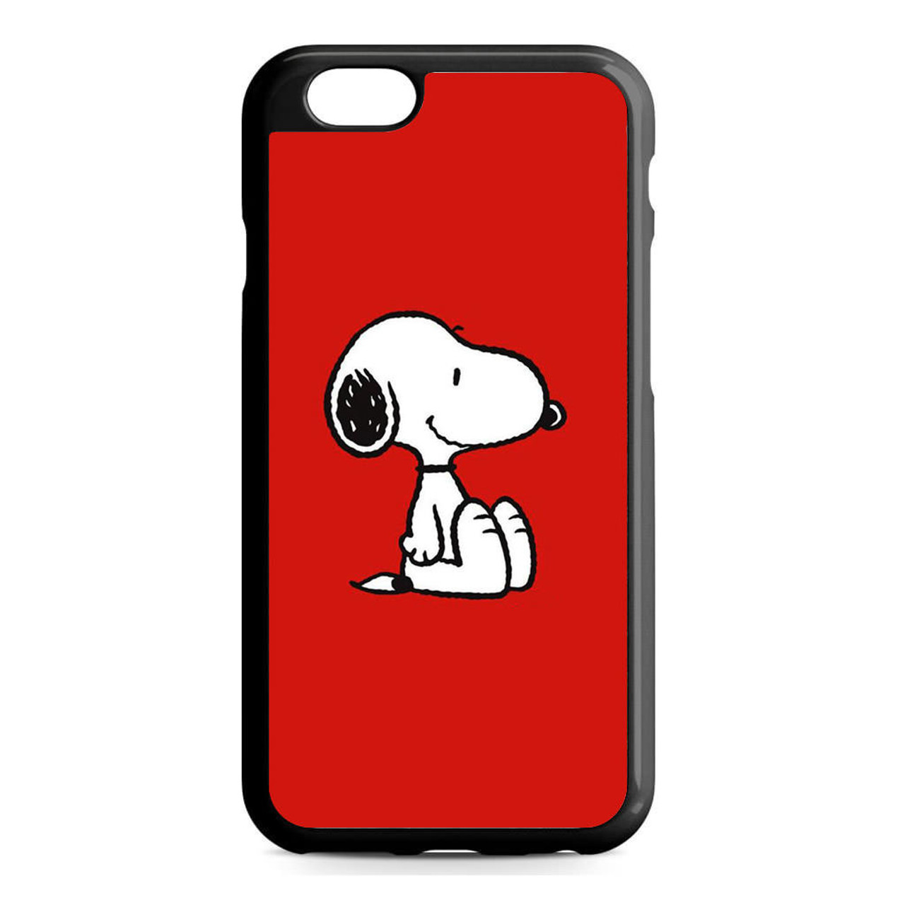 new product c5119 8faee Snoopy Red iPhone 6/6S Case