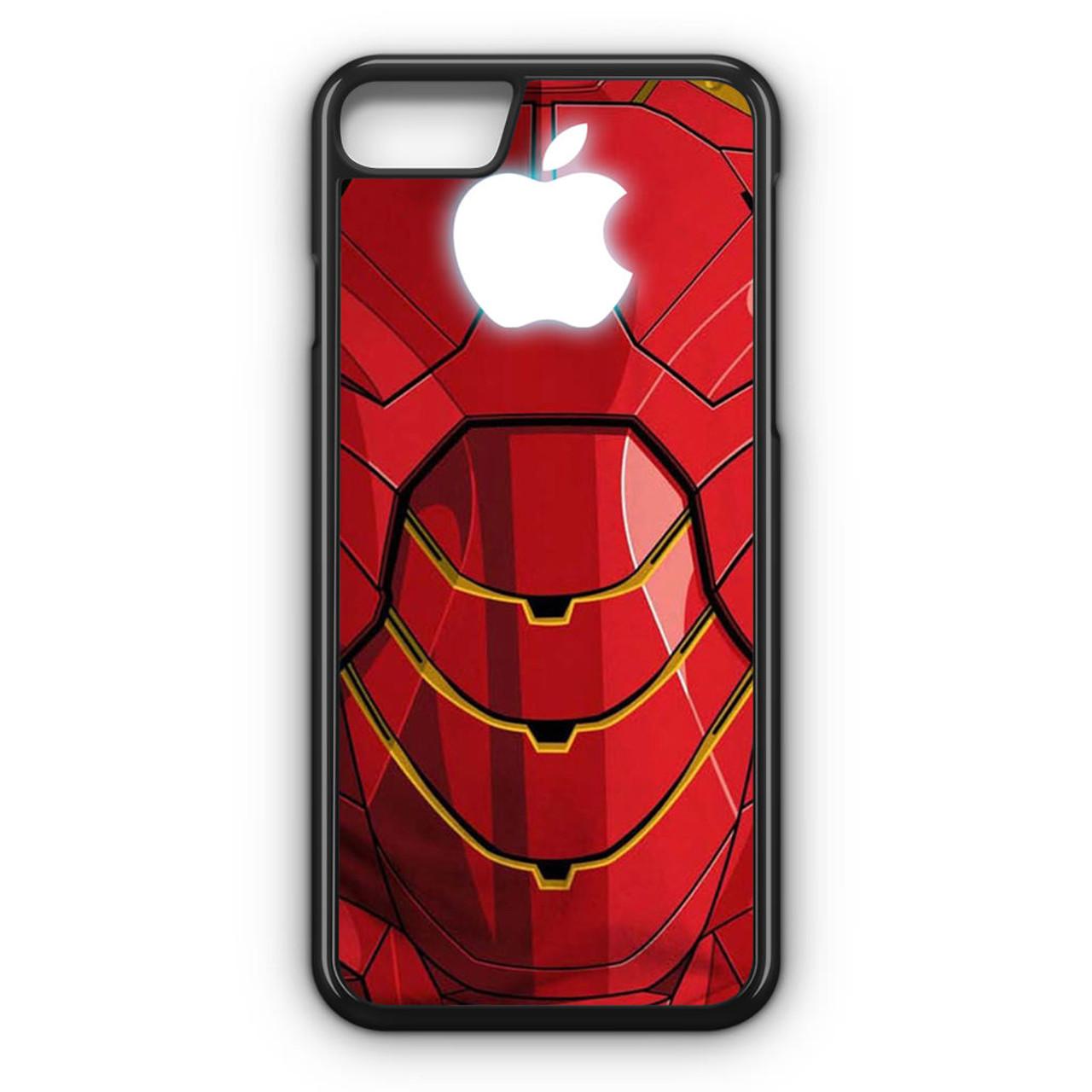new styles a0575 d77b2 Iron man apple logo iPhone 7 Case