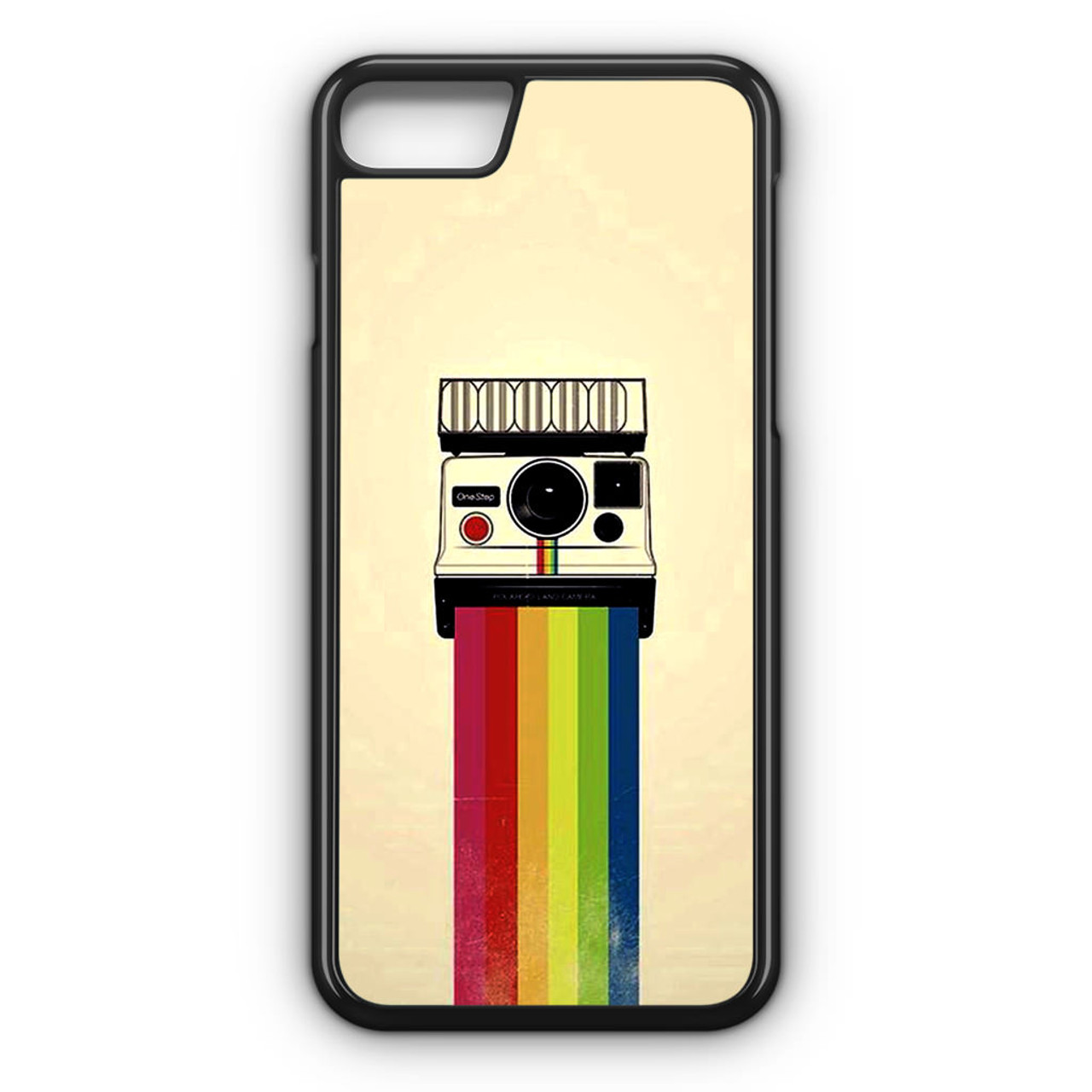 brand new bee5a 2ef01 Polaroid Camera Colorful Rainbow iPhone 7 Case