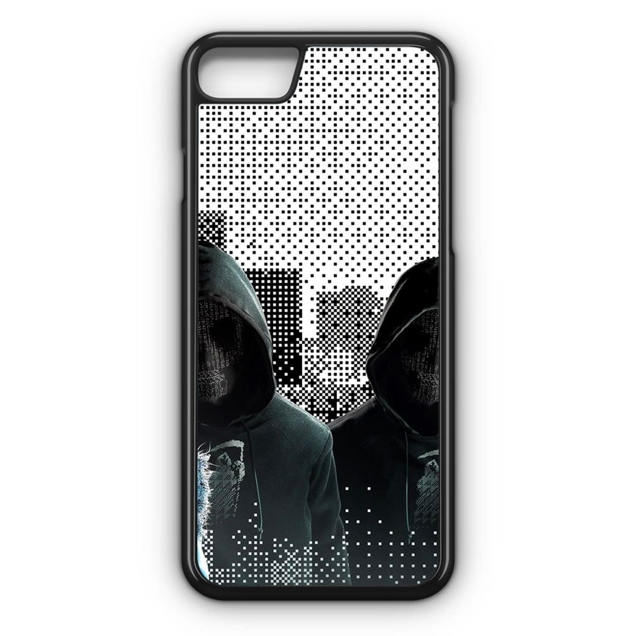 wo zu kaufen größte Auswahl an modische Muster Watch Dogs 2 Mask iPhone 7 Case