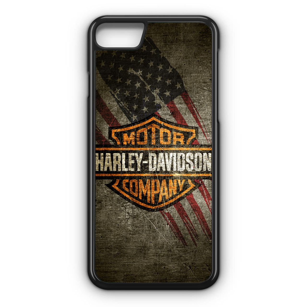 check out d96b2 de9d5 HD Harley Davidson iPhone 7 Case