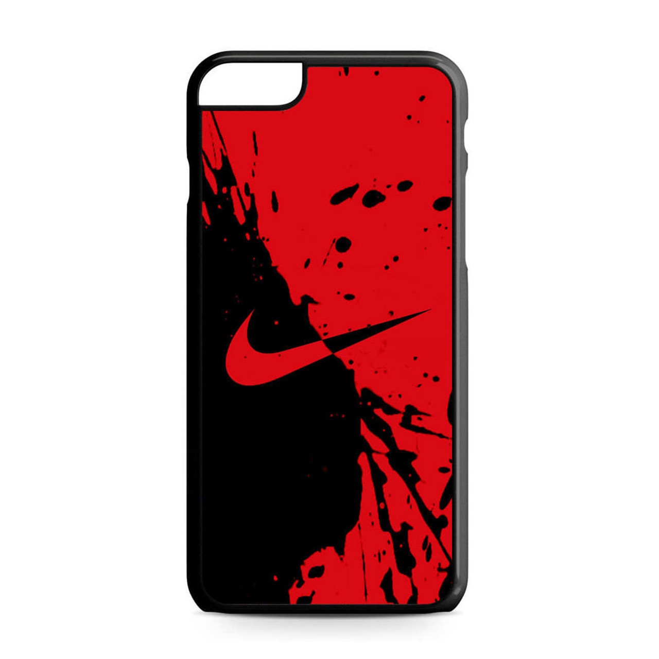 premium selection 61f73 4dd80 Nike Red and Black iPhone 6 Plus/6S Plus Case