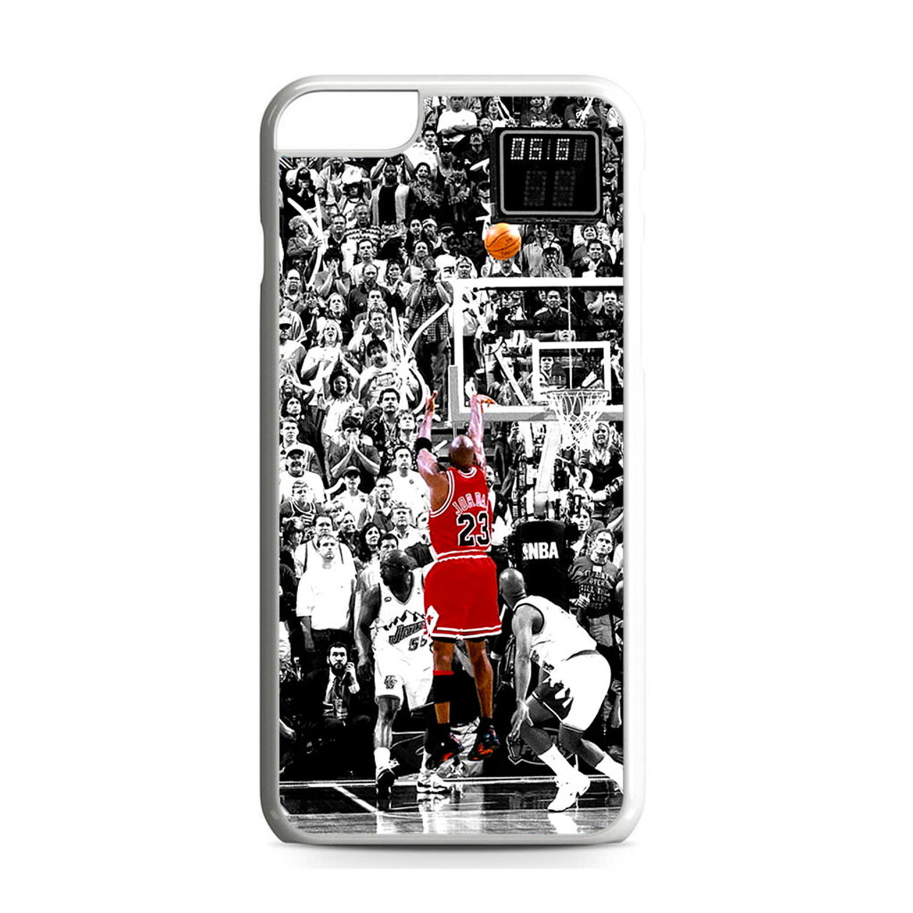 Michael Jordan Shoot in NBA iPhone 6 Plus/6S Plus Case