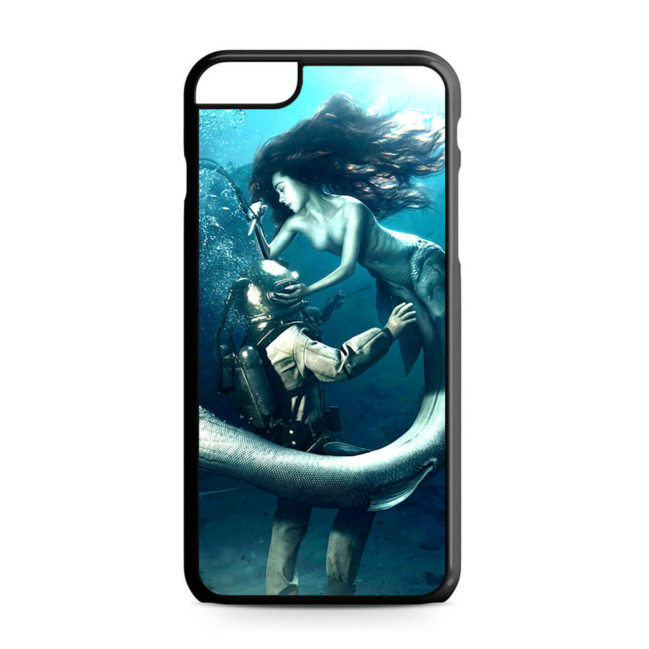 best service 34ee8 62aaa Diver and The Mermaid iPhone 6 Plus/6S Plus Case