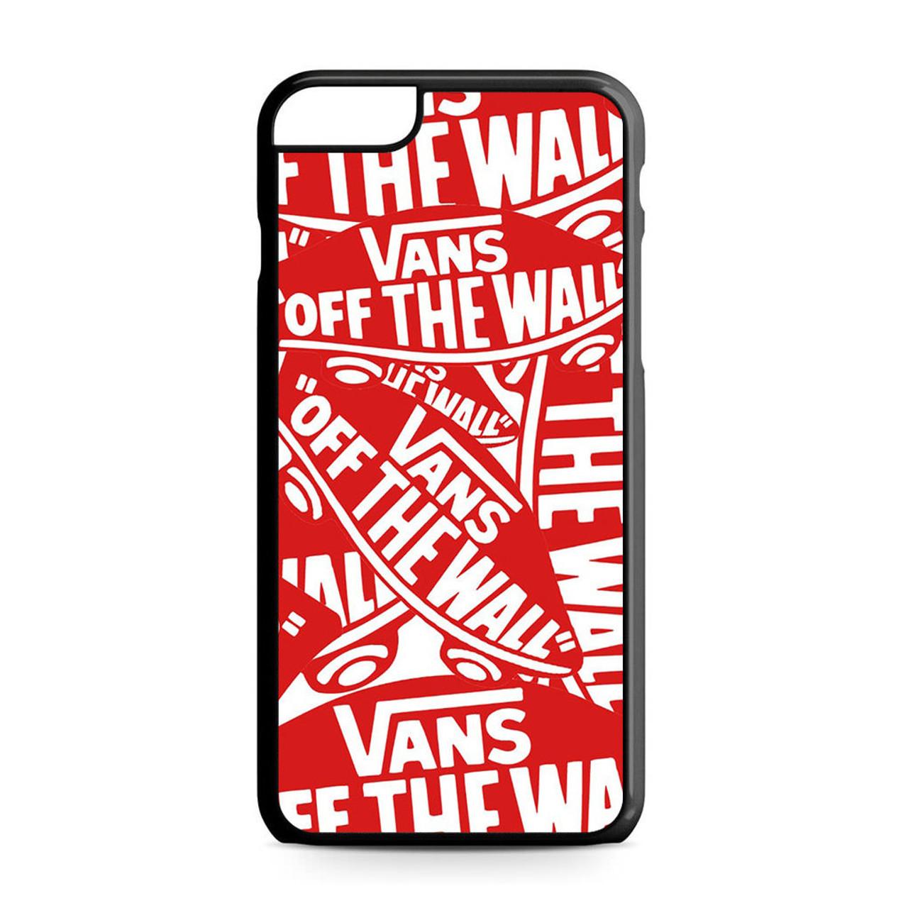 newest c4e71 d78f8 Vans logo iPhone 6 Plus/6S Plus Case