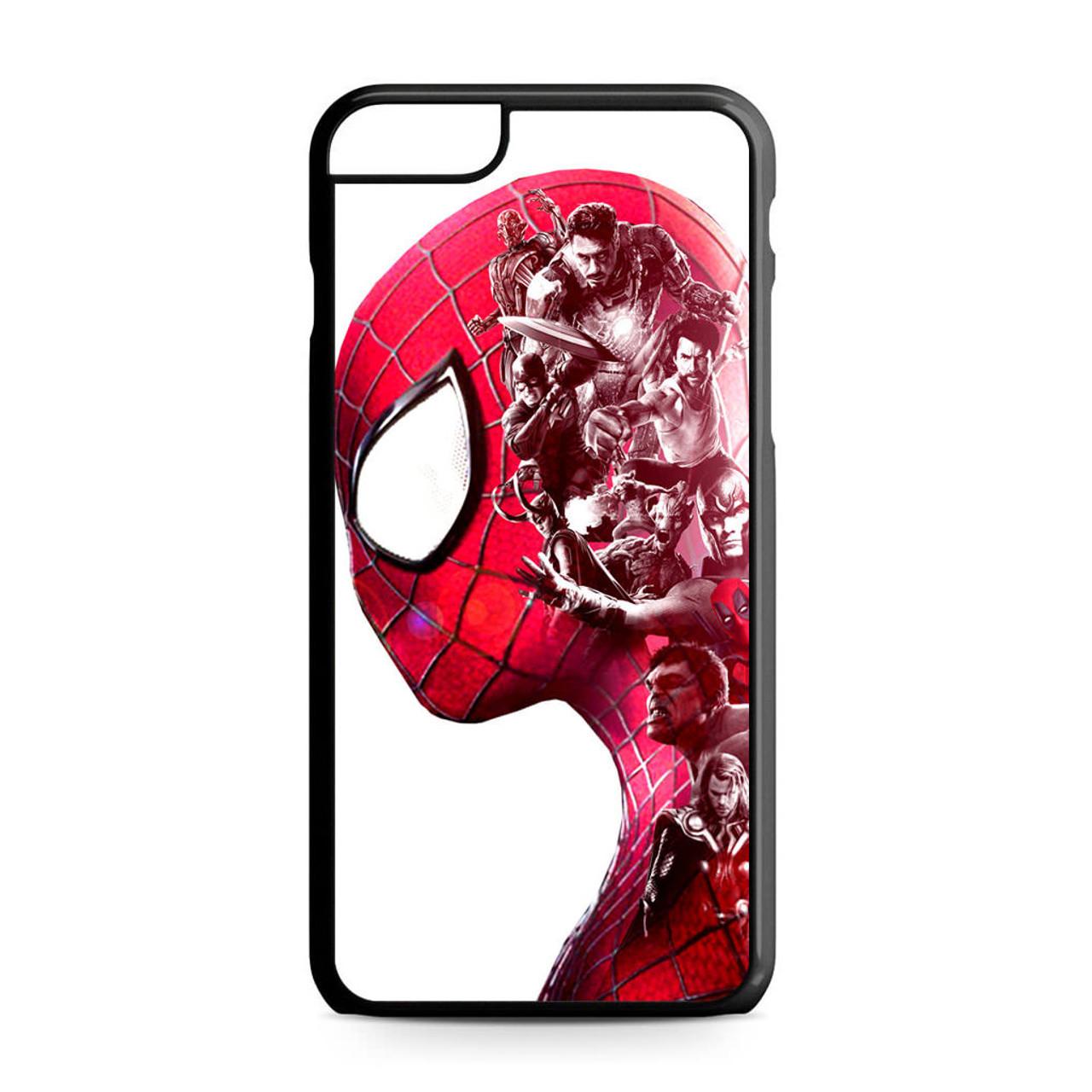 new product 5927b 1025b Spiderman Superheroes Marvel iPhone 6 Plus/6S Plus Case