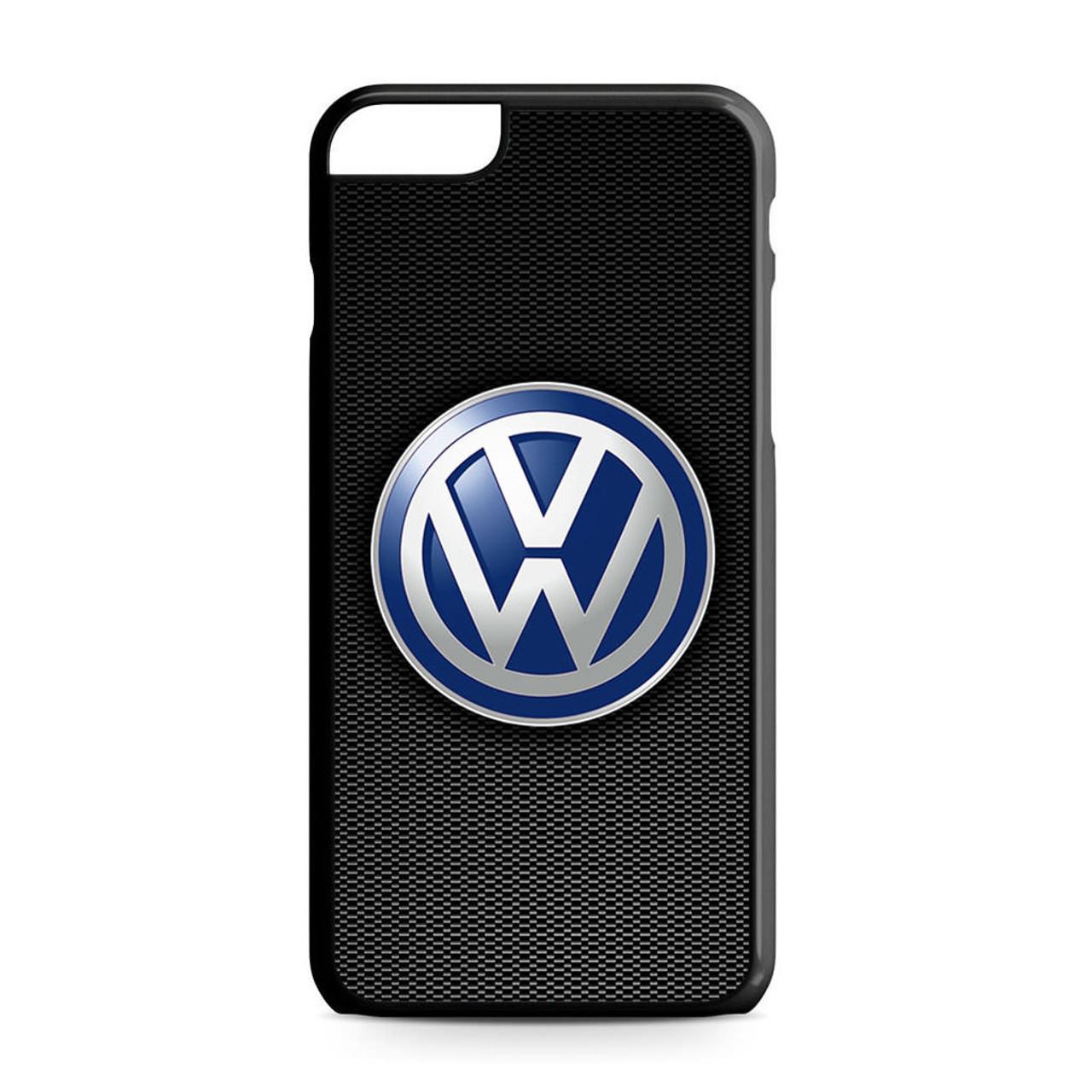 pretty nice f6123 b64b4 VW Logo Black Carbon iPhone 6 Plus/6S Plus Case