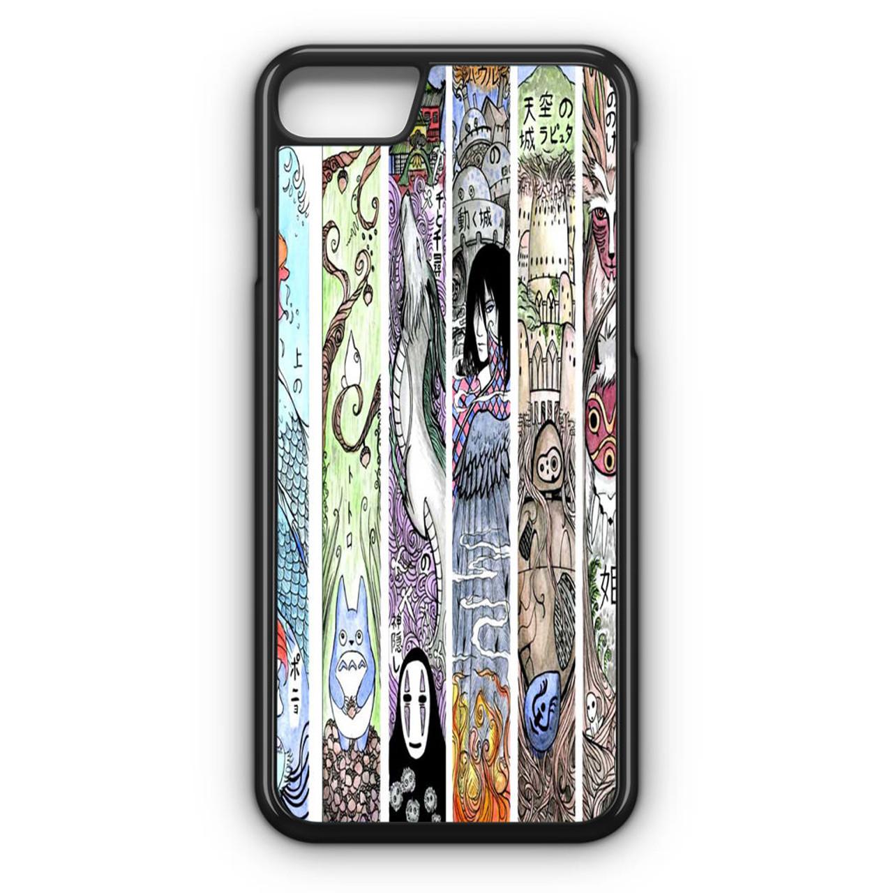 studio ghibli iphone 8 case