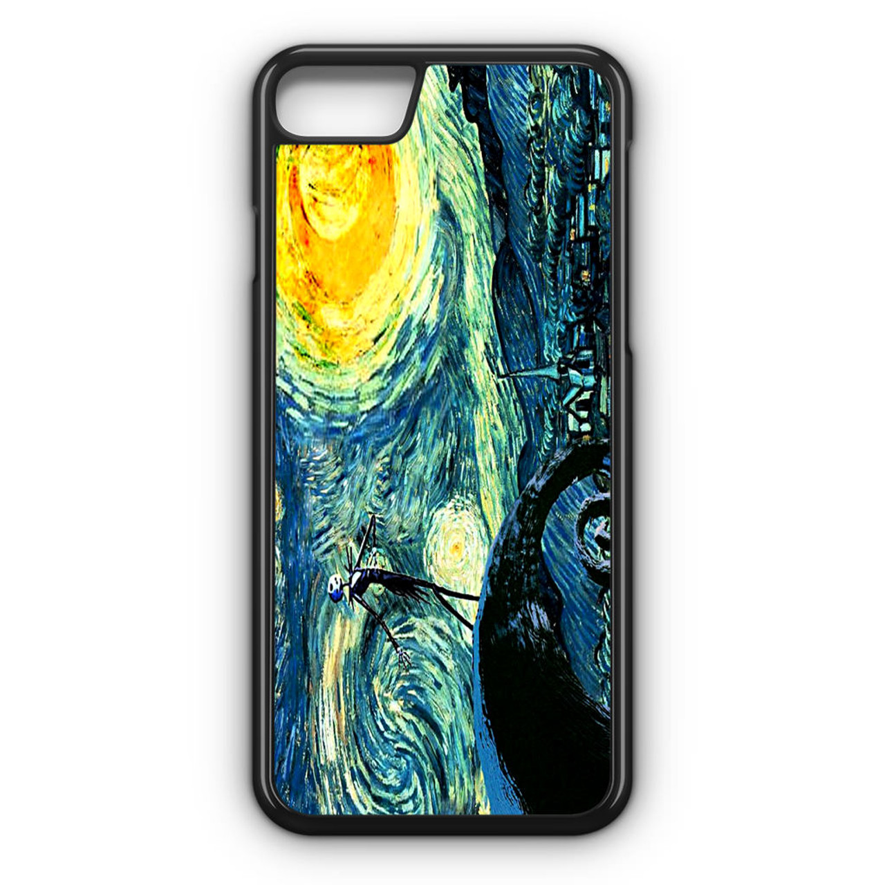 Starry Night Nightmare Before Christmas iPhone 8 Case - CASESHUNTER
