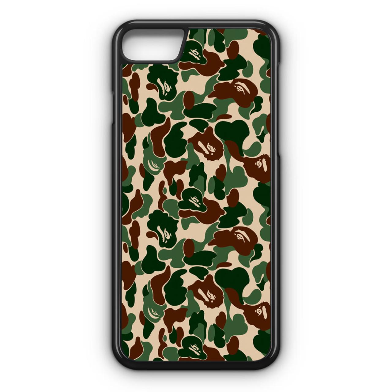 info for a8f77 40cb2 Bathing Ape Bape Camo Real Tree iPhone 8 Case
