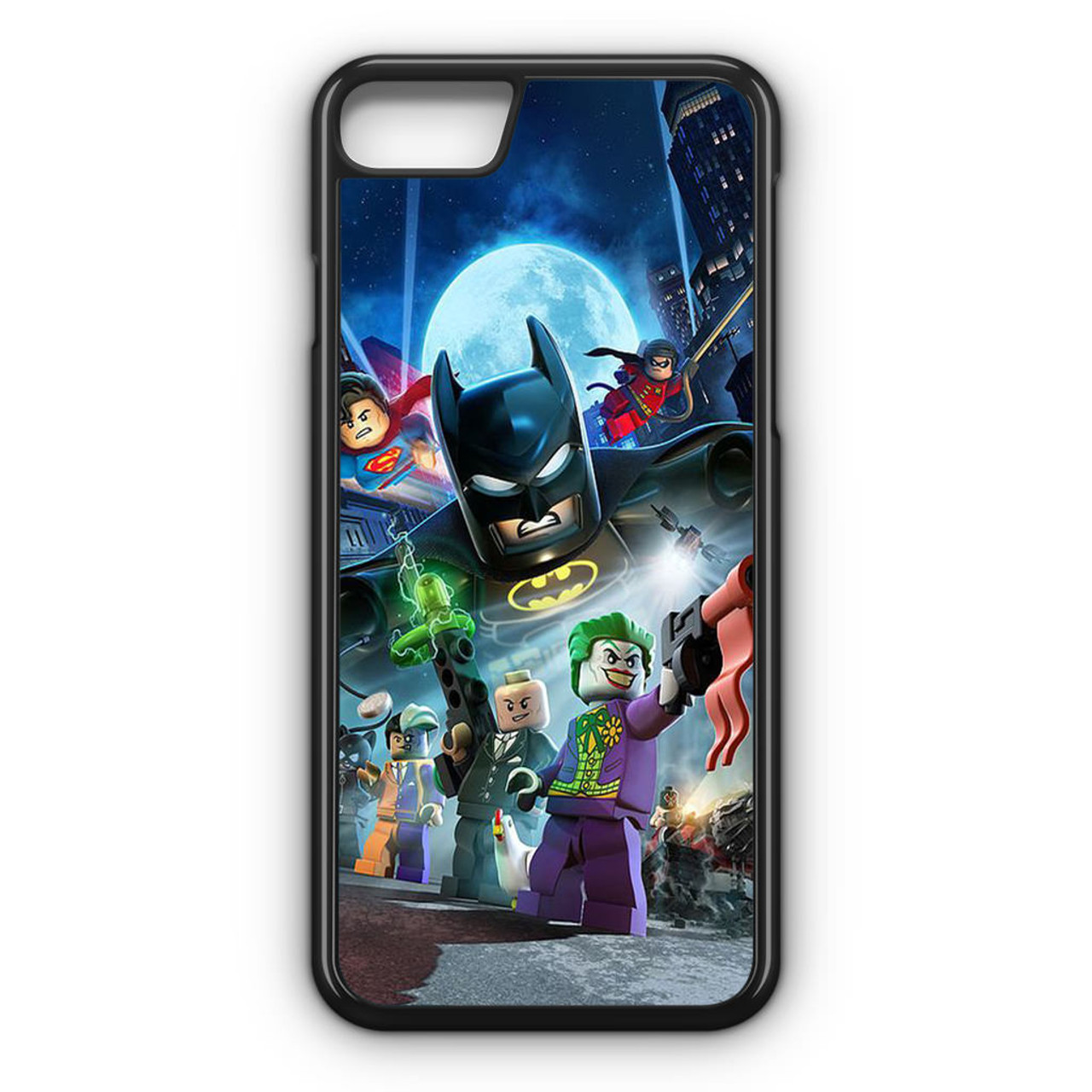 on sale c96e1 2d328 Batman and DC Super Heroes Lego iPhone 8 Case