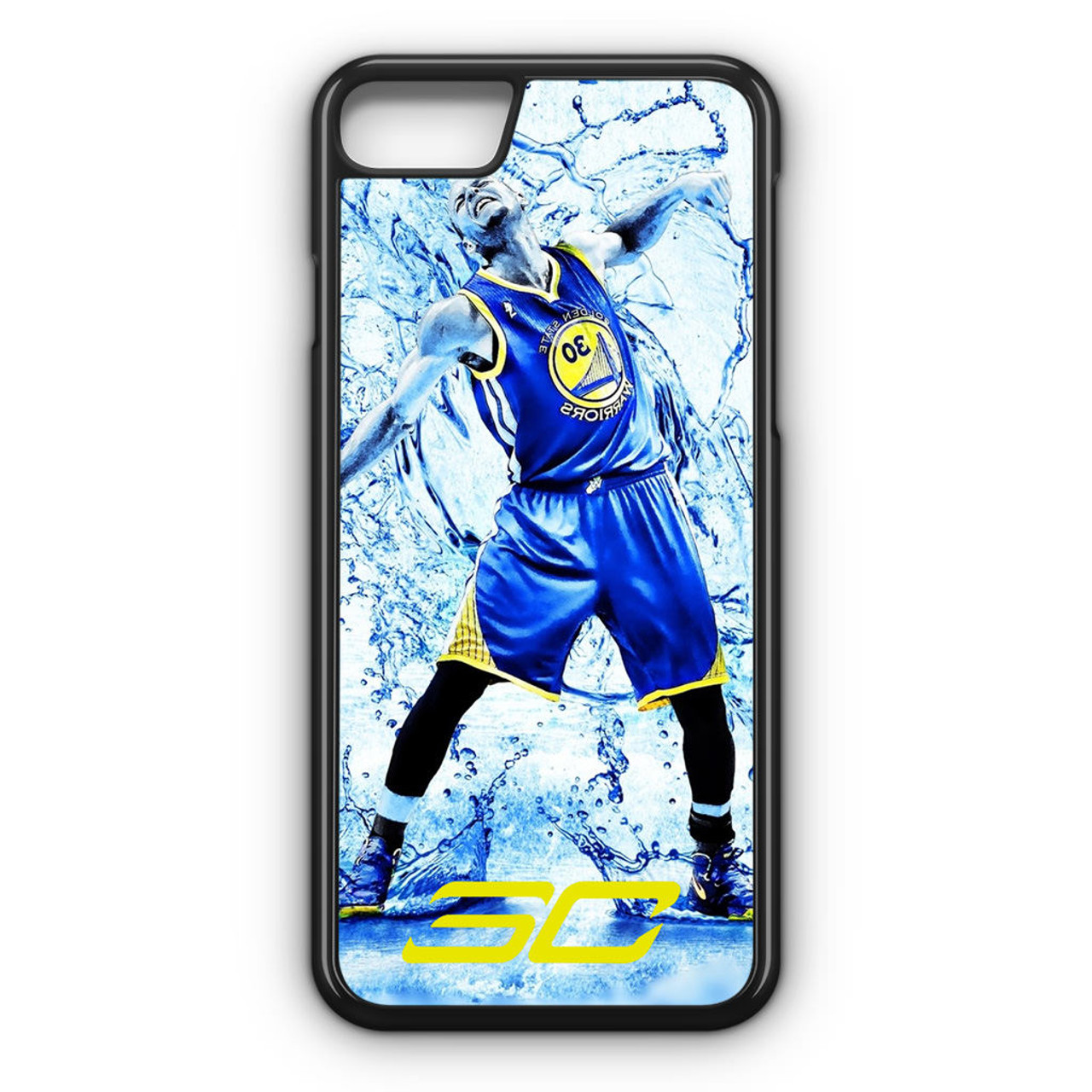 newest b8486 ec4dc Stephen Curry Water iPhone 8 Case