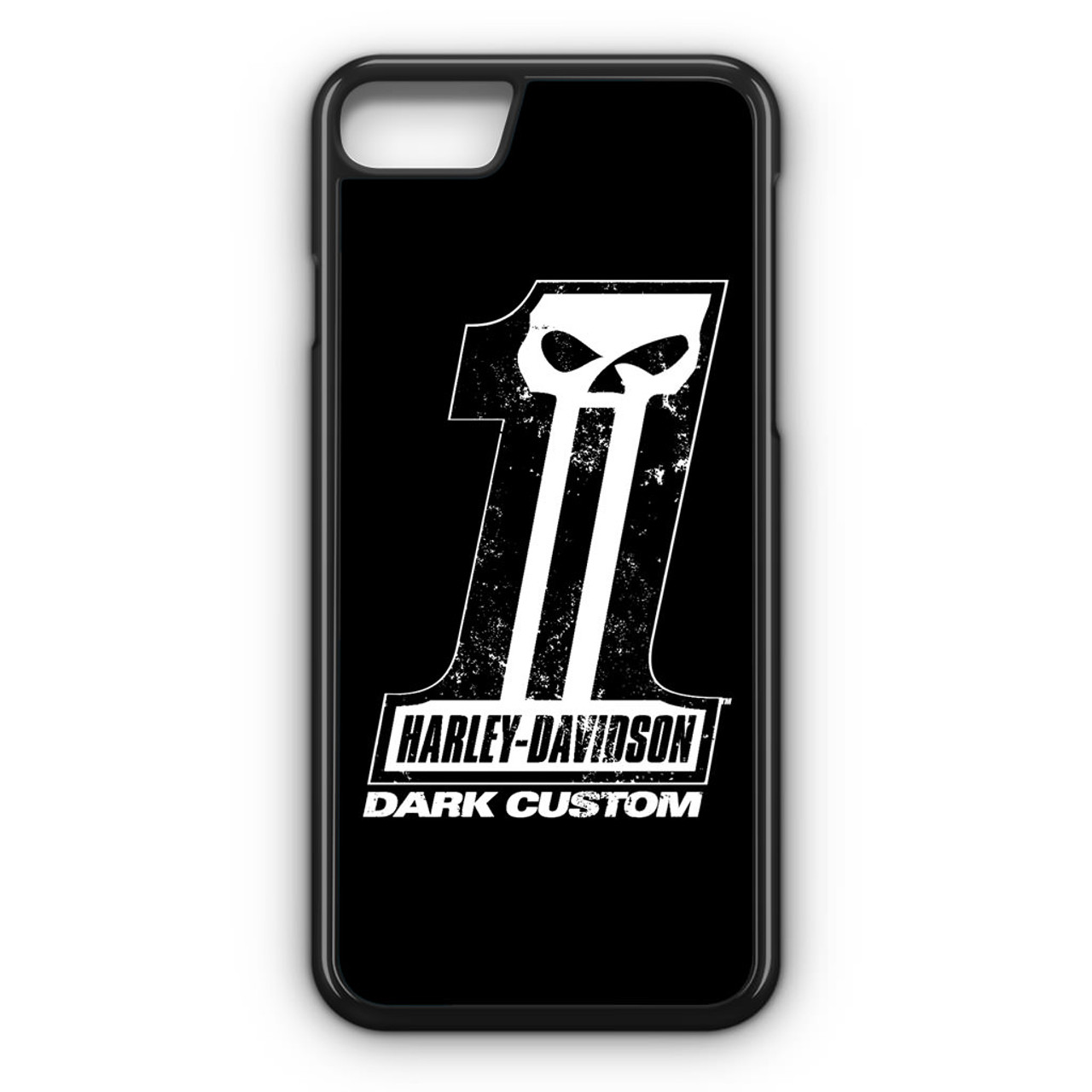 premium selection f4eac fa2d9 Harley Davidson Dark Custom iPhone 8 Case