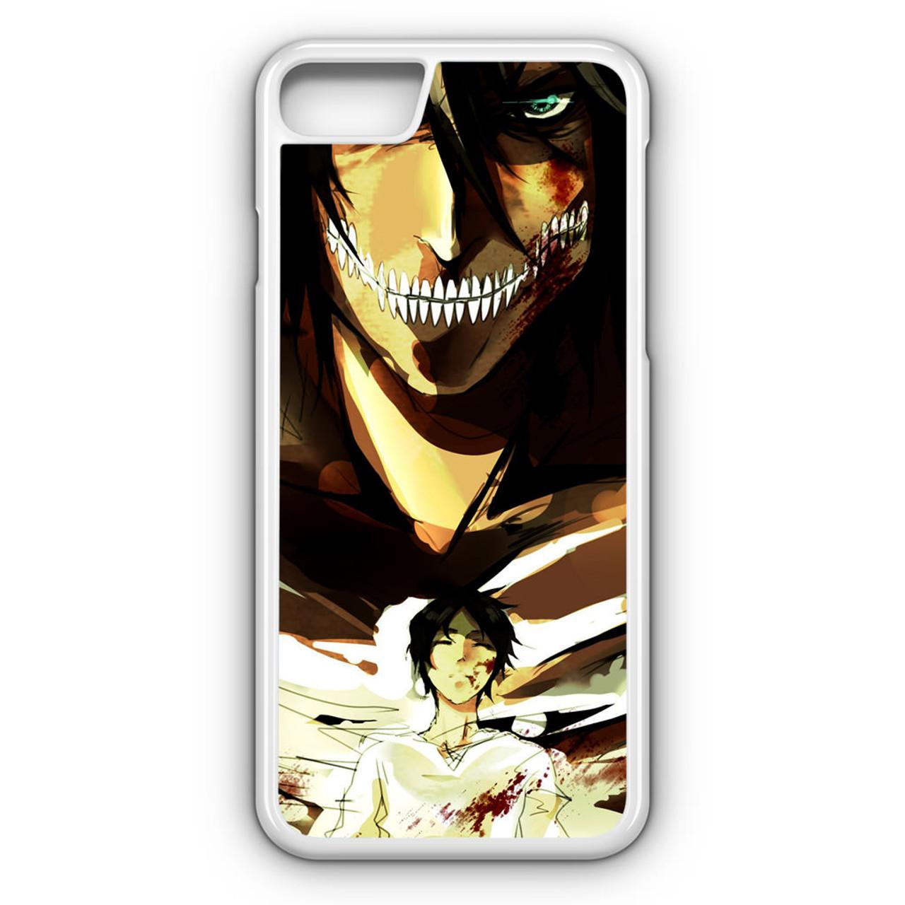 Anime Attack On Titan Scout Regiment Eren Jaeger iphone case