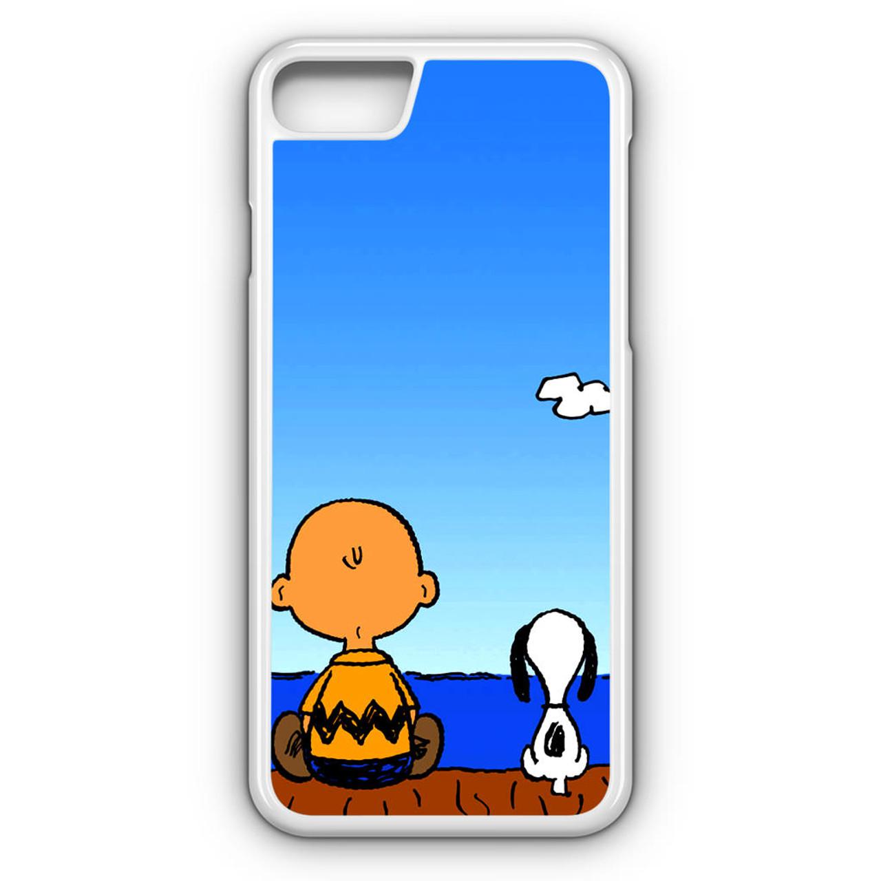 Snoopy Charlie Brown iphone case